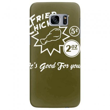 Fried Chicken It's Good For You! Samsung Galaxy S7 Edge Case Designed By Tonyhaddearts