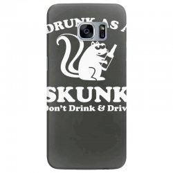 drunk as a skunk Samsung Galaxy S7 Edge Case | Artistshot