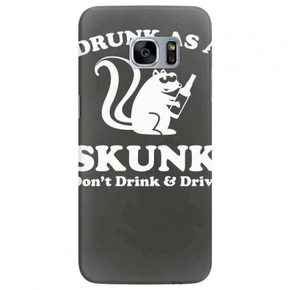 Drunk As A Skunk Samsung Galaxy S7 Edge Case Designed By Tonyhaddearts