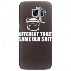 different toilet, same old shit Samsung Galaxy S7 Edge Case | Artistshot