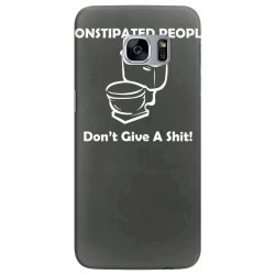 constipated people Samsung Galaxy S7 Edge Case | Artistshot