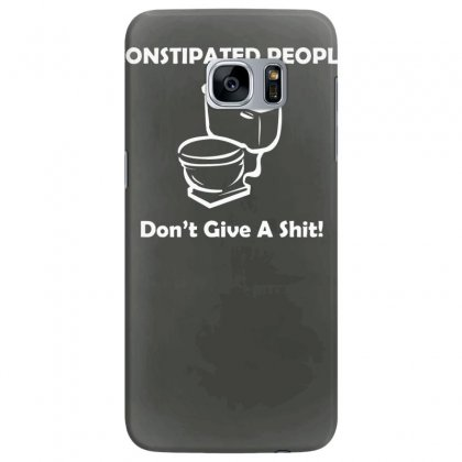 Constipated People Samsung Galaxy S7 Edge Case Designed By Tonyhaddearts