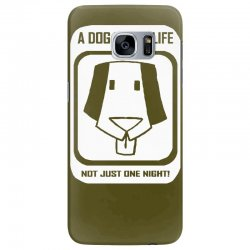 a dog is for life Samsung Galaxy S7 Edge Case | Artistshot