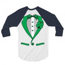 irish-suit 3/4 Sleeve Shirt   Artistshot