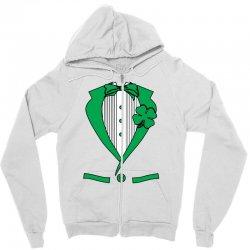 irish-suit Zipper Hoodie   Artistshot