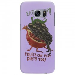 eat fruits Samsung Galaxy S7 Edge Case | Artistshot