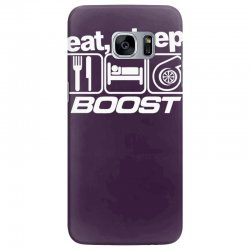 eat sleep boost Samsung Galaxy S7 Edge Case | Artistshot