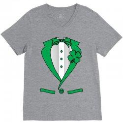 irish-suit V-Neck Tee   Artistshot