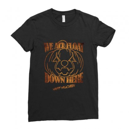 Float Down (f140) Ladies Fitted T-shirt Designed By Newgen