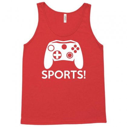 Sports Video Games Tank Top Designed By Mdk Art