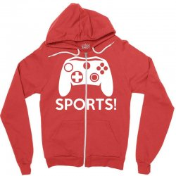 sports video games Zipper Hoodie | Artistshot