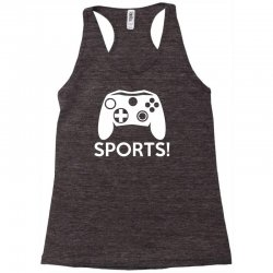 sports video games Racerback Tank | Artistshot