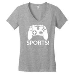 sports video games Women's V-Neck T-Shirt | Artistshot