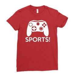 sports video games Ladies Fitted T-Shirt | Artistshot