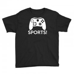 sports video games Youth Tee | Artistshot