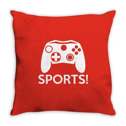 Sports Video Games Throw Pillow Designed By Mdk Art