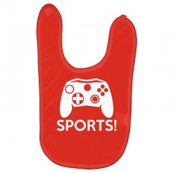 sports video games Baby Bibs | Artistshot