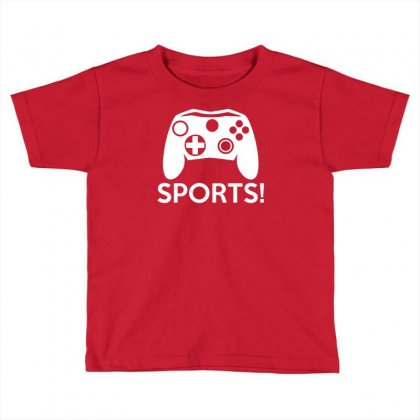 Sports Video Games Toddler T-shirt Designed By Mdk Art