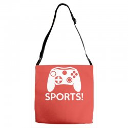sports video games Adjustable Strap Totes | Artistshot