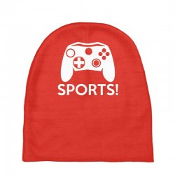 sports video games Baby Beanies | Artistshot