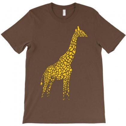 Giraffe T-shirt Designed By Mdk Art