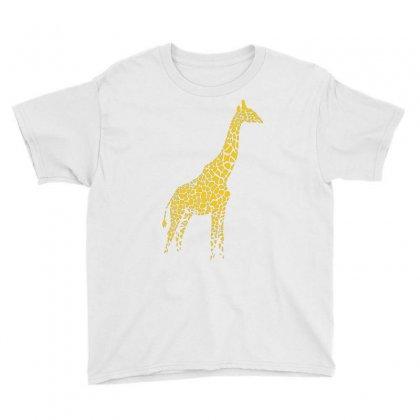 Giraffe Youth Tee Designed By Mdk Art