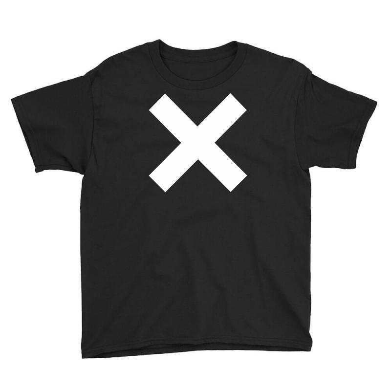 Cross Logo Youth Tee   Artistshot