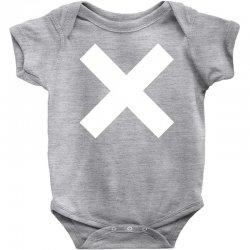 cross logo Baby Bodysuit | Artistshot