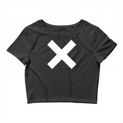 cross logo Crop Top | Artistshot
