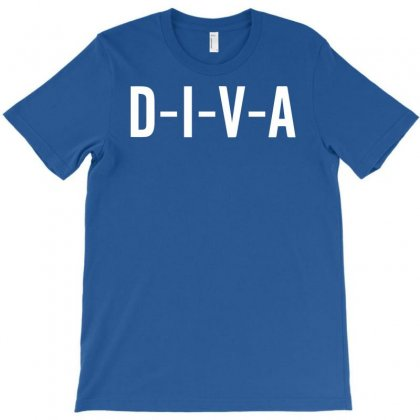 Diva T-shirt Designed By Mdk Art