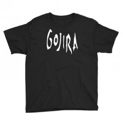 gojira logo Youth Tee   Artistshot