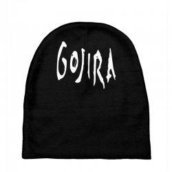 gojira logo Baby Beanies   Artistshot