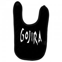 gojira logo Baby Bibs   Artistshot