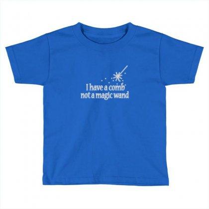 Magic Wand Rhinestone Toddler T-shirt Designed By Rita