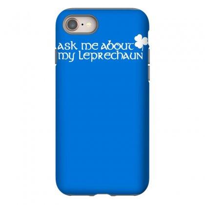St Patricks Day Leprechaun Iphone 8 Case Designed By Mdk Art