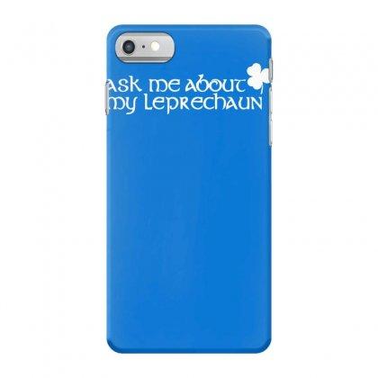 St Patricks Day Leprechaun Iphone 7 Case Designed By Mdk Art
