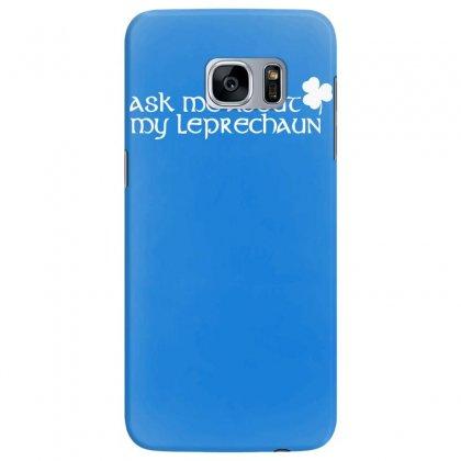 St Patricks Day Leprechaun Samsung Galaxy S7 Edge Case Designed By Mdk Art