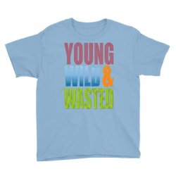 young wild wasted Youth Tee | Artistshot
