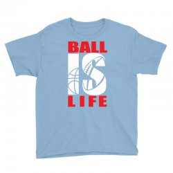 ball is life funny sports Youth Tee | Artistshot