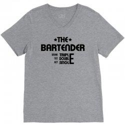2063306c Custom The Bartender - Black T-shirt By Mdk Art - Artistshot