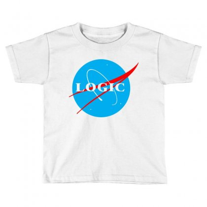 Logic Nasa Toddler T-shirt Designed By Killakam