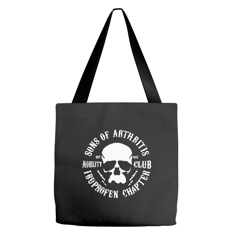 6382ddb3 Custom Sons Of Arthritis Funny Soa Parody Tote Bags By Mdk Art - Artistshot