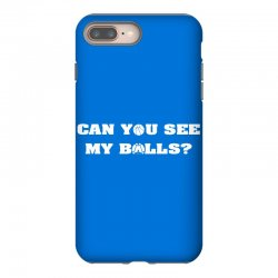can you see my balls sports football basketball iPhone 8 Plus Case | Artistshot