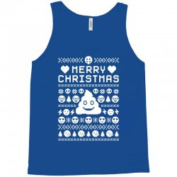 funny ugly christmas smiley emoticon Tank Top | Artistshot