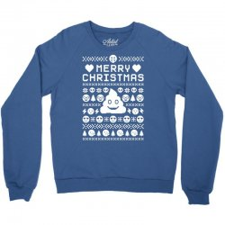 funny ugly christmas smiley emoticon Crewneck Sweatshirt | Artistshot