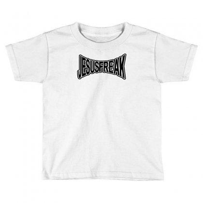 Jesus Freak Toddler T-shirt Designed By Mdk Art