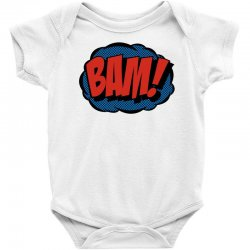 comic bam Baby Bodysuit   Artistshot