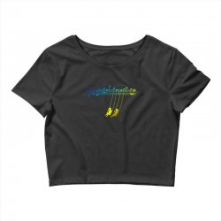 music swing Crop Top | Artistshot