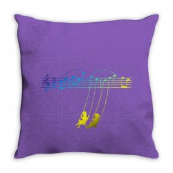 music swing Throw Pillow | Artistshot