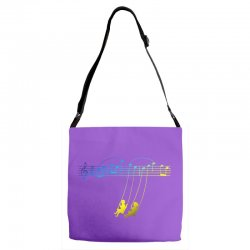 music swing Adjustable Strap Totes | Artistshot